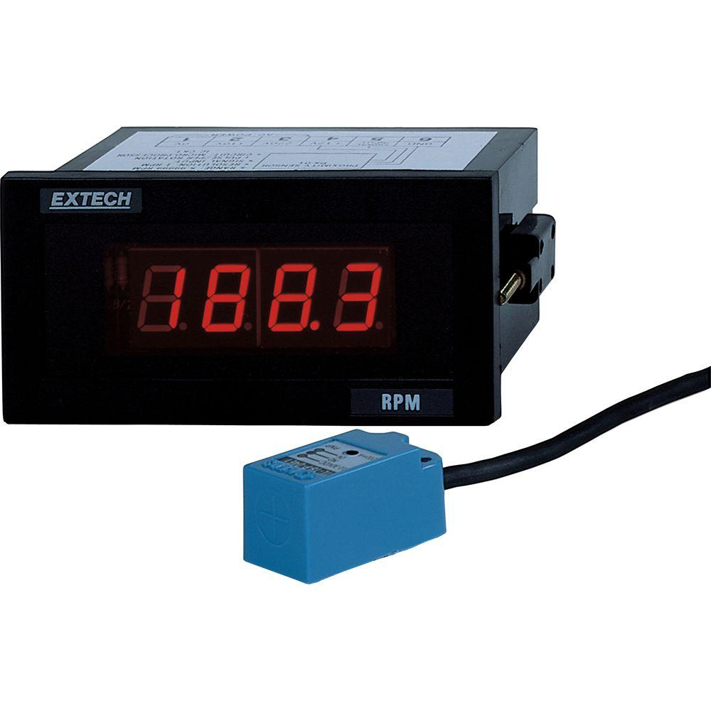 Panel Mount Tachometer with NIST