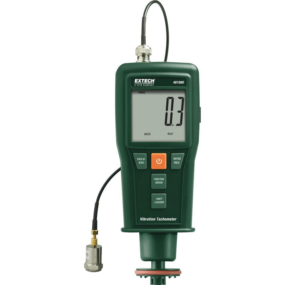 Vibration Meter and Laser/Contact Tachometer with NIST