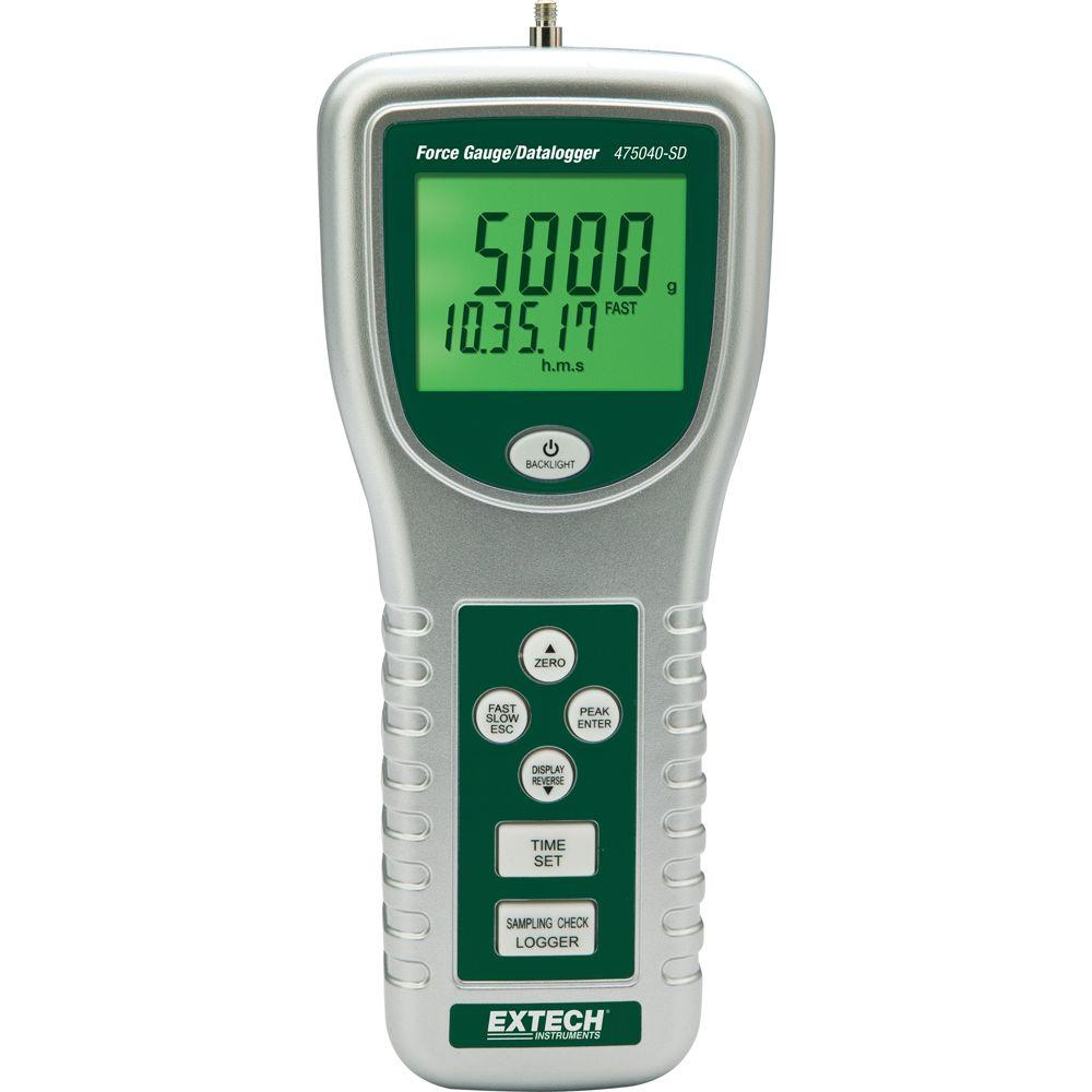 Force Gauge Data Logger with NIST