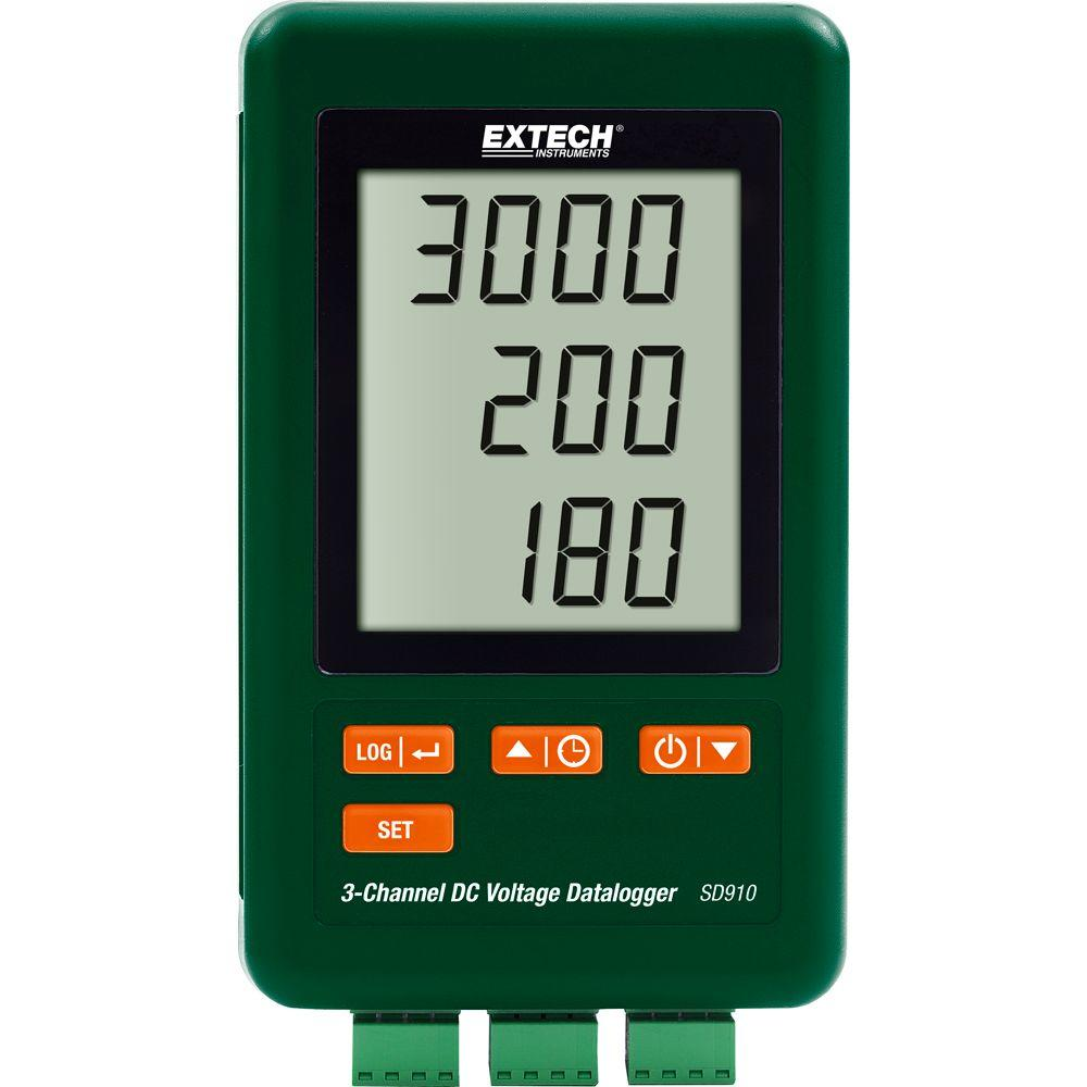 3-Channel DC Voltage (mV) Datalogger with NIST