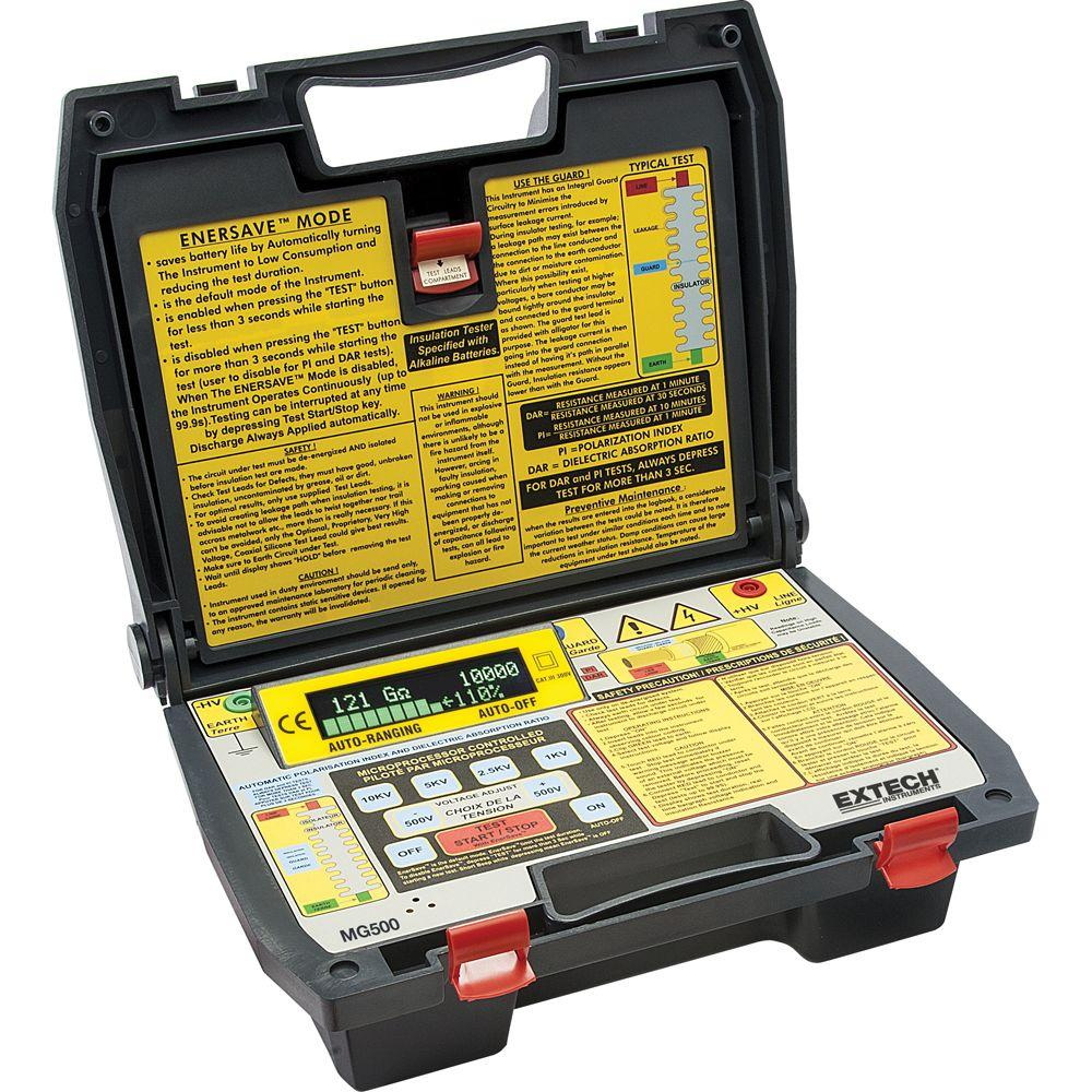 Digital High Voltage Insulation Tester with NIST